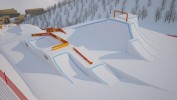 2018 Olympic Slopestyle Course