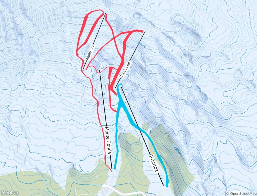 ялгора горнолыжный курорт схема трасс